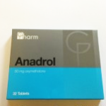 ЦЕНА 31 лв.Anadrol Анадрол 32 табл по 50 мг Anapolon, Anadrol, Анаполон