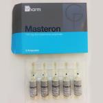 35 лв Masteron, Materon – 5 ампули по 100 мгмл