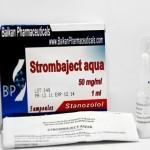 45 лв Winstrol Strombaject Aqua – Stanozolol, Winstrol - Винстрол, стромба