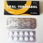 48 лв Turinabol, Oral Turinabol – 50 табл по 25 мг, 4-хлородехидрометилтестостерон