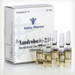 78 лв Nandrobolin 250 Alpha Pharm(Deca Nondrolone) Нандролон Деканоат 1 ml 250 mg